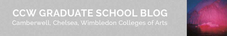 CCW Graduate School Blog