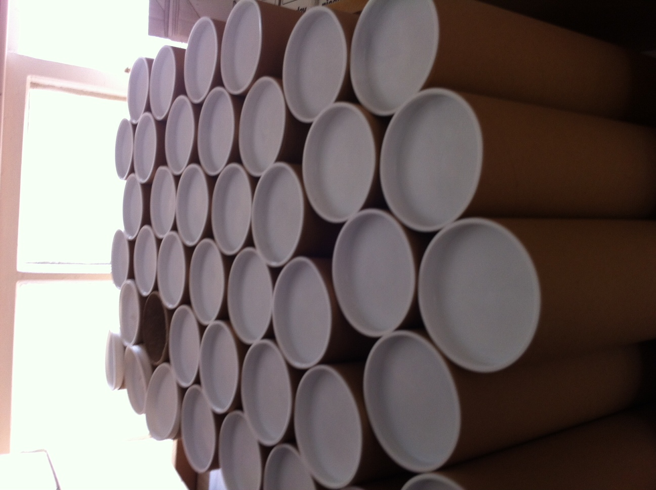 I accidentally ordered 60 mailing tubes instead of 10.
